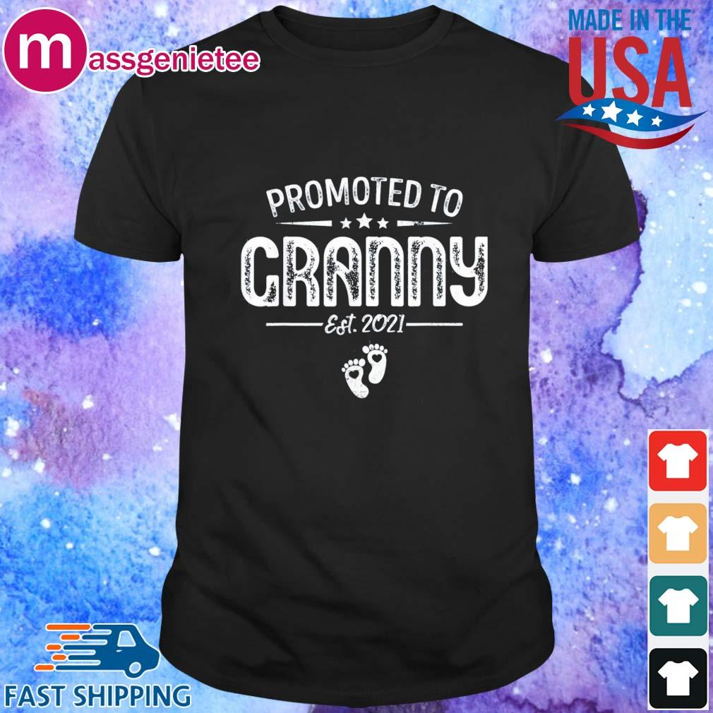 Promoted to granny est 2021 shirt