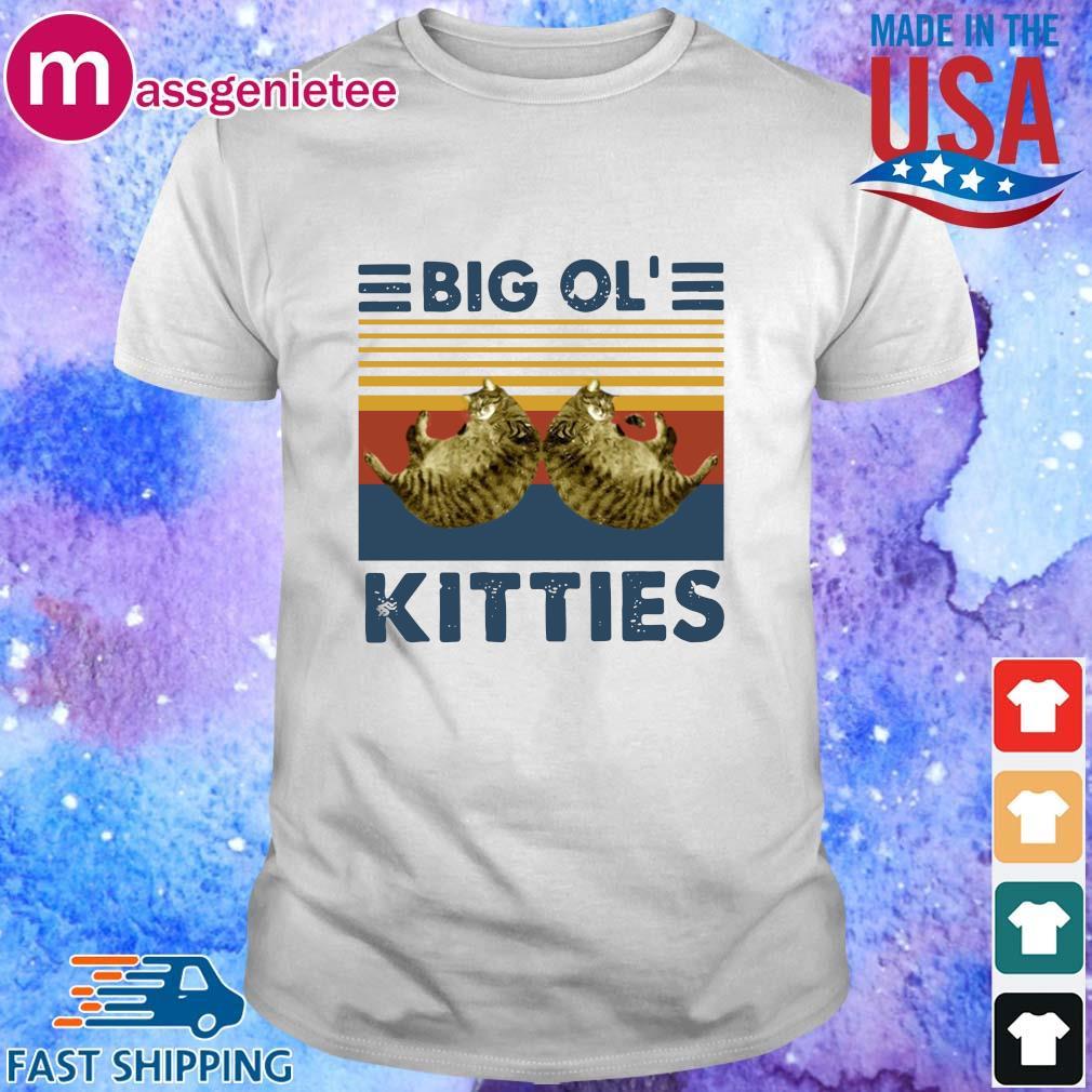 Cats big ol' kitties vintage shirts
