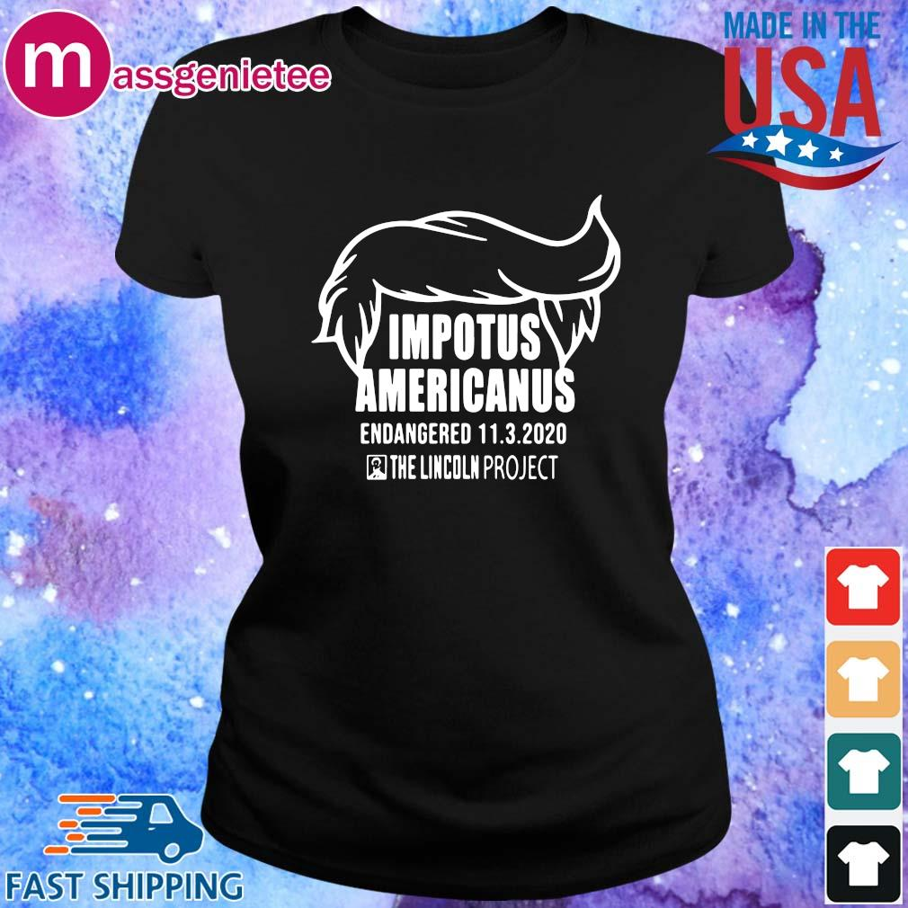 Impotus Americanus the Lincoln project s Ladies den