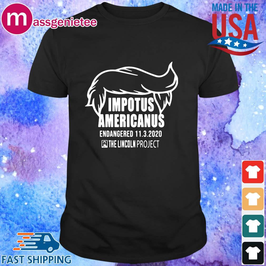 Impotus Americanus the Lincoln project shirt