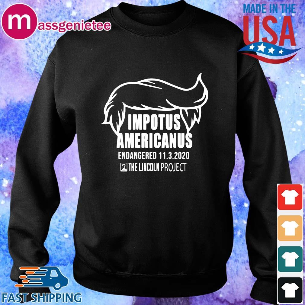 Impotus Americanus the Lincoln project s Sweater den