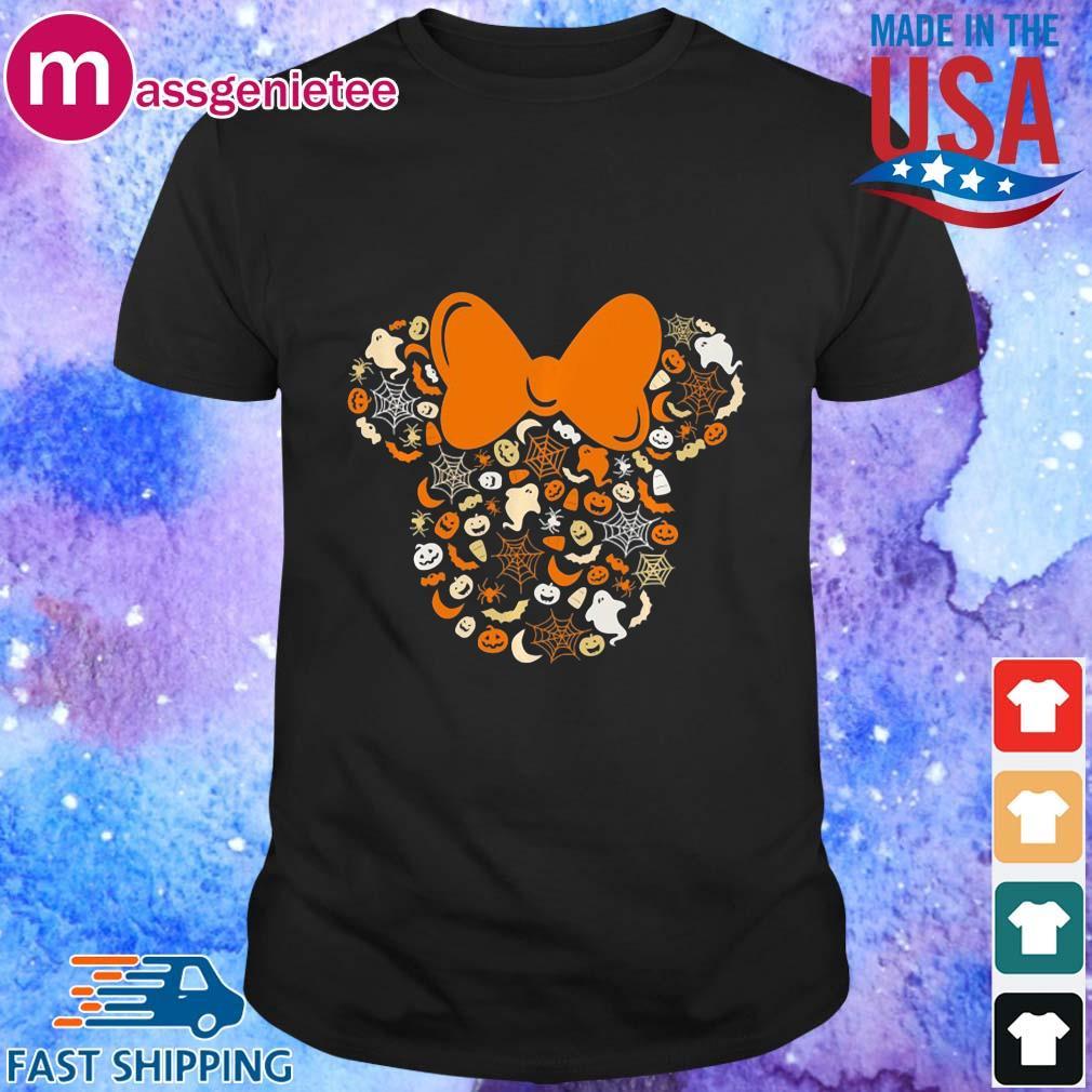 Disney Minnie Mouse Halloween Silhouette Icon shirt