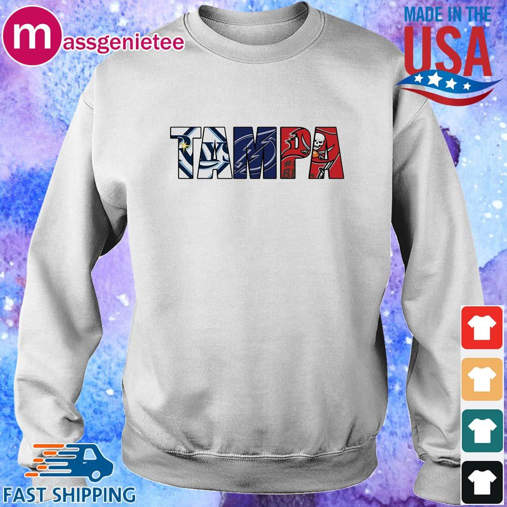 Tampa sports team Tampa Bay Rays Tampa Bay Lightning Tampa Bay Buccaneers s Sweater trang