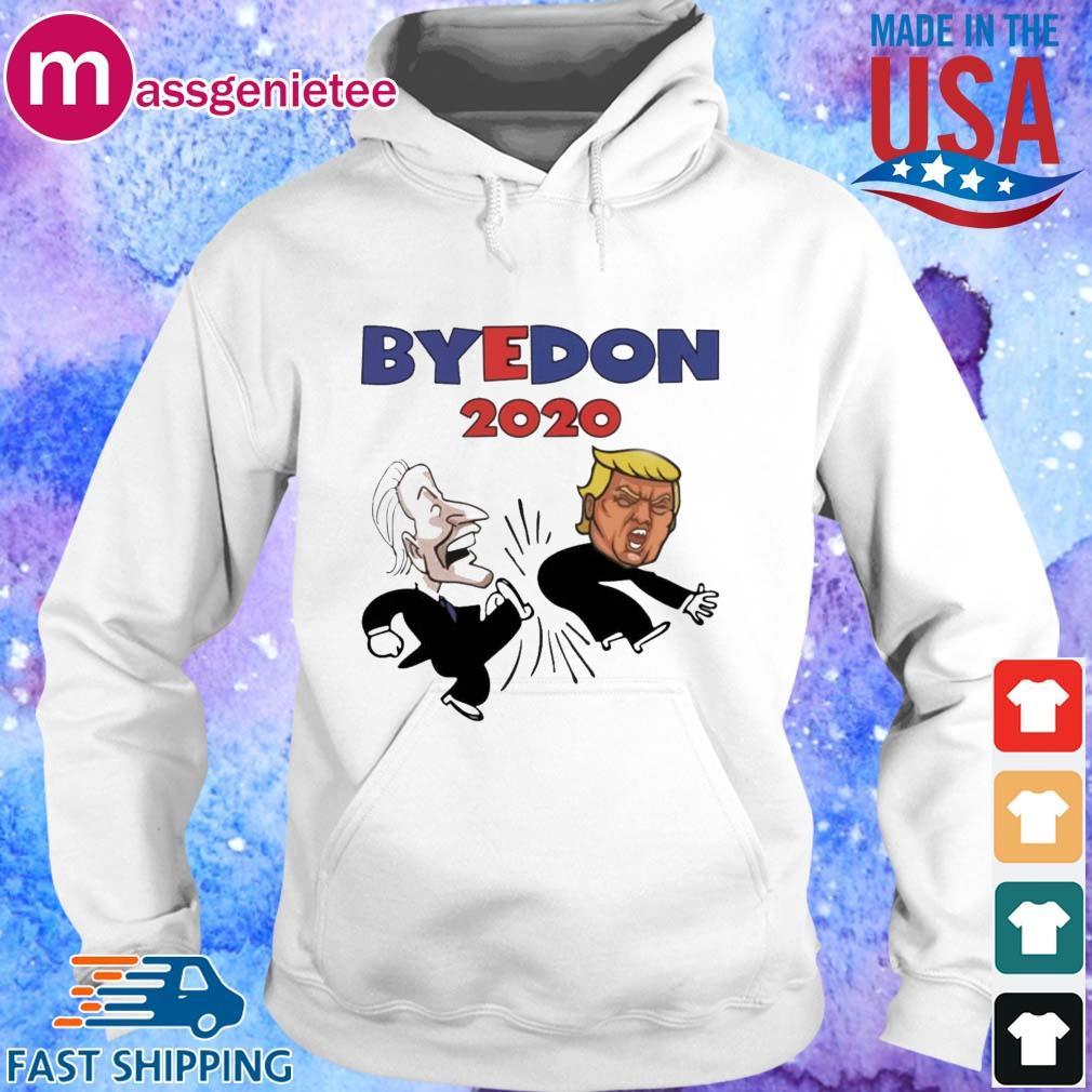 Byedon 2020 Biden kick Trump s Hoodie trang