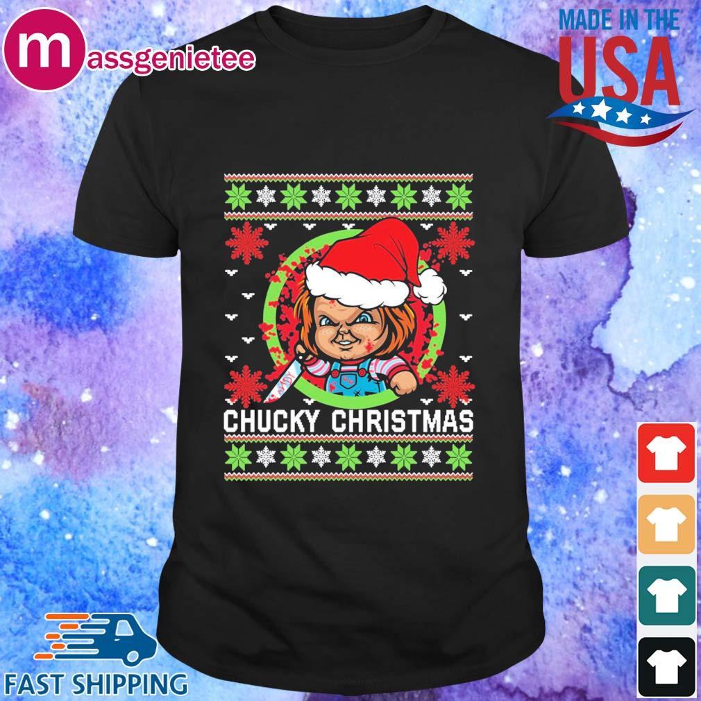 Chucky Christmas sweatshirt - Copy