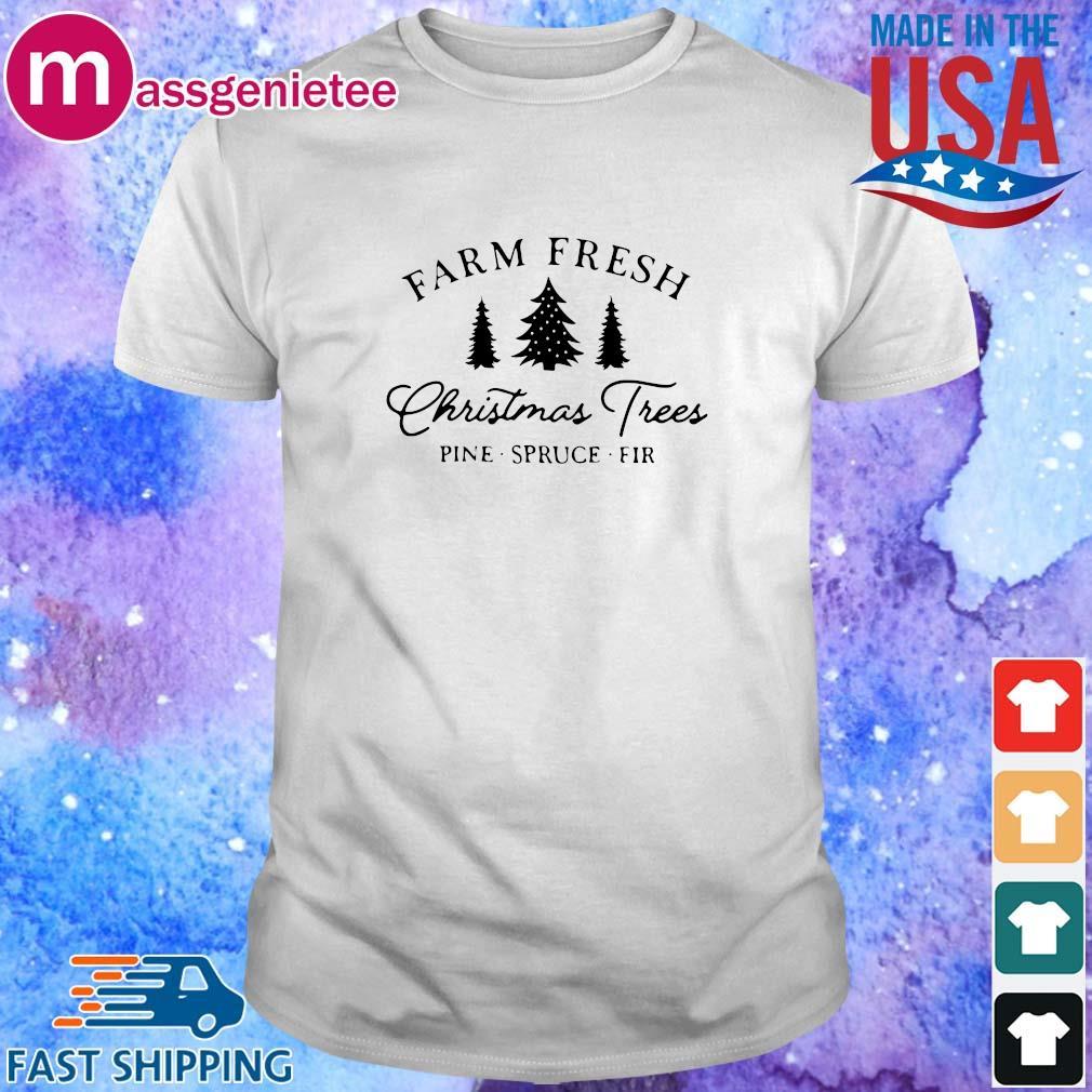 Farm fresh Christmas trees pine spruce fir sweatshirt