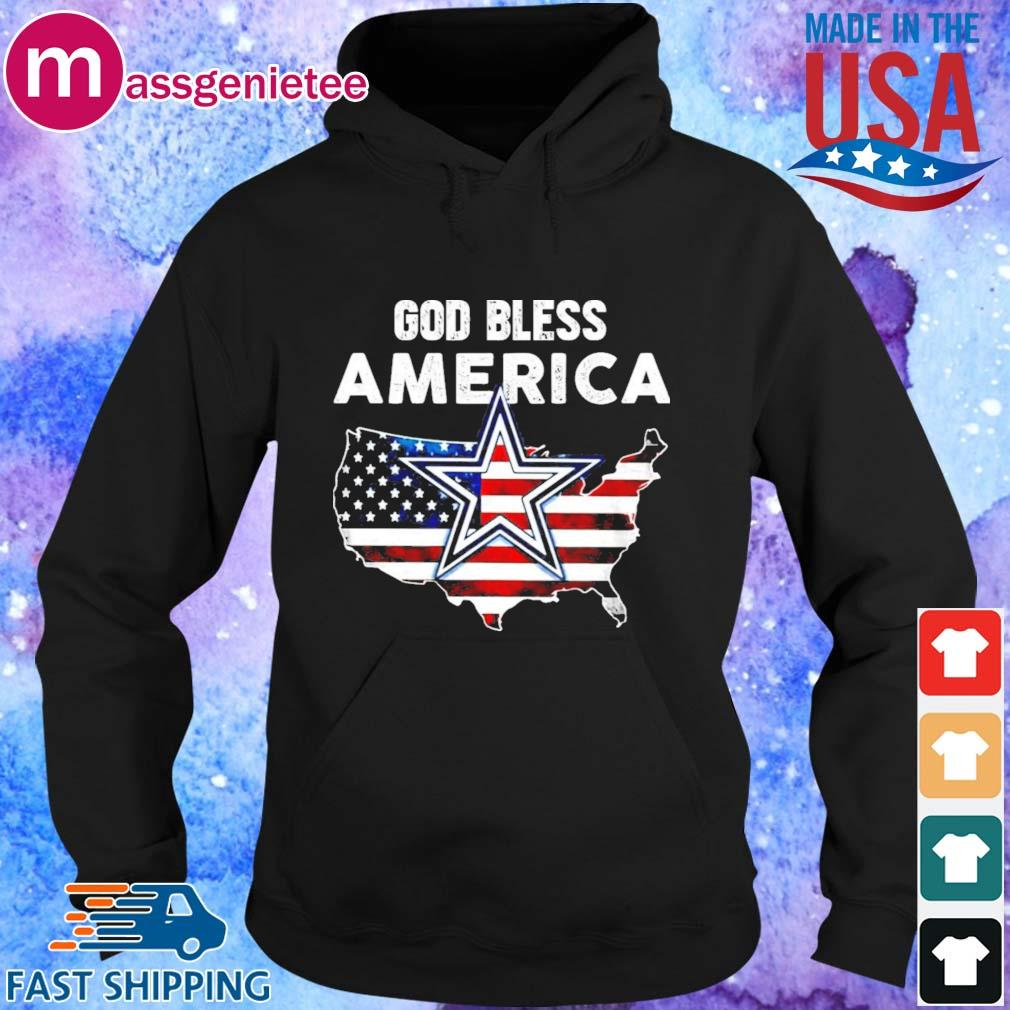 God Bless America flag shirt - Copy Hoodie den