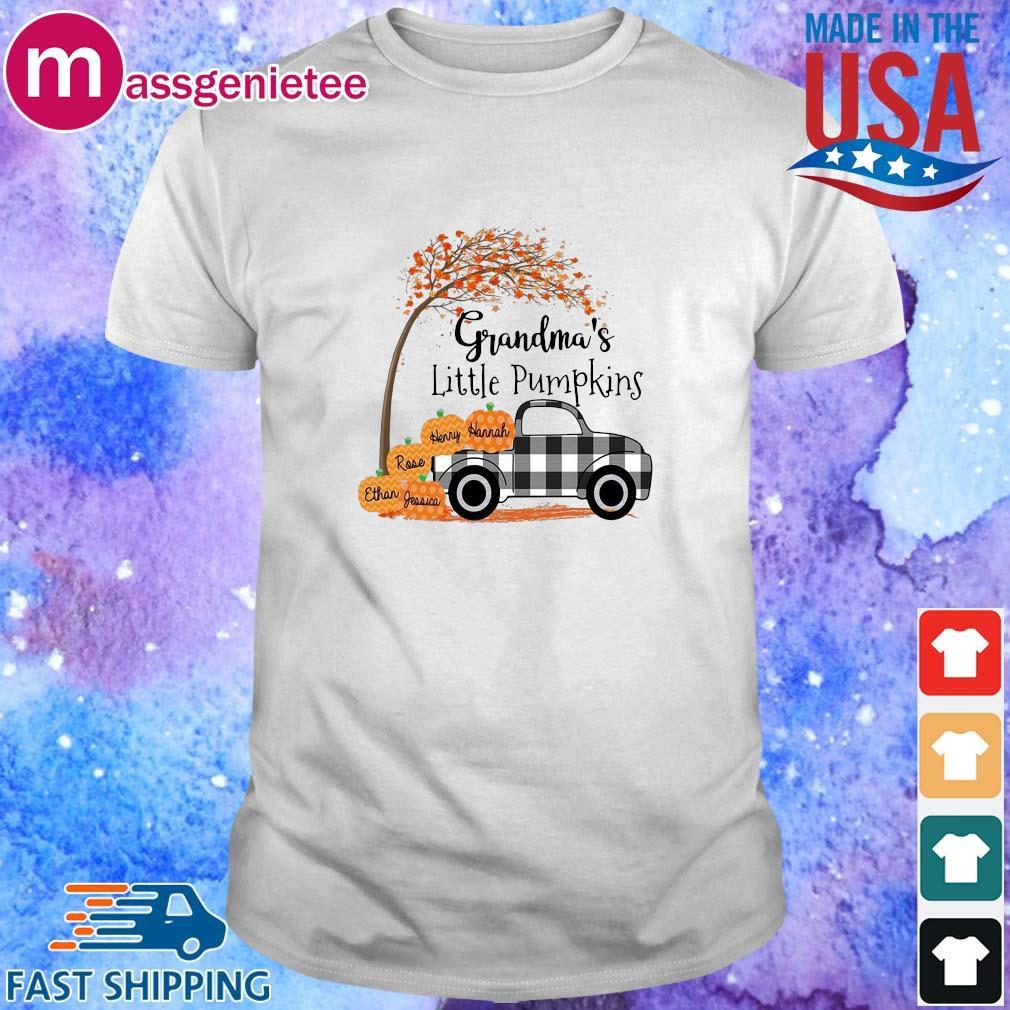 Grandma's Little Pumpkins shirt