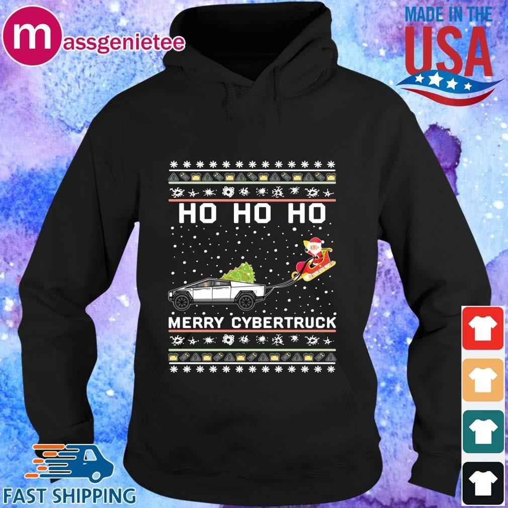 Ho Ho Ho Merry Cybertruck Christmas Hoodies Sweats Hoodie den