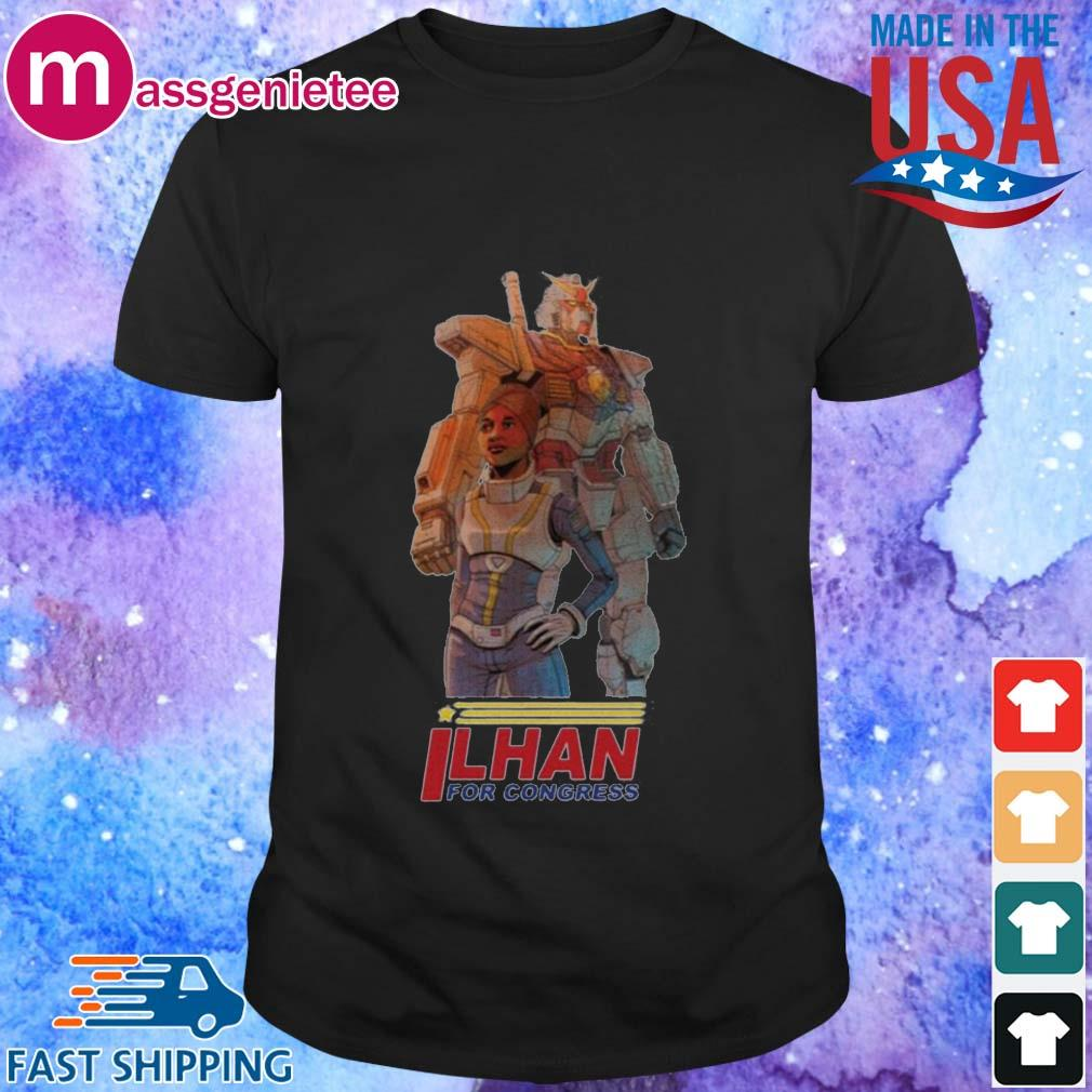 Ilhan Omar Gundam Pilot By Ben Sawyer Shirt