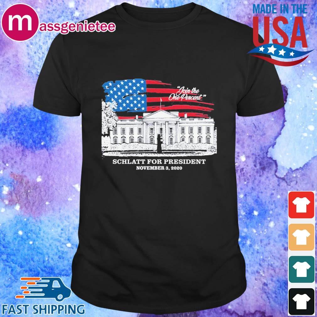 Join the one percent Jschlatt for president november 3 2020 shirt