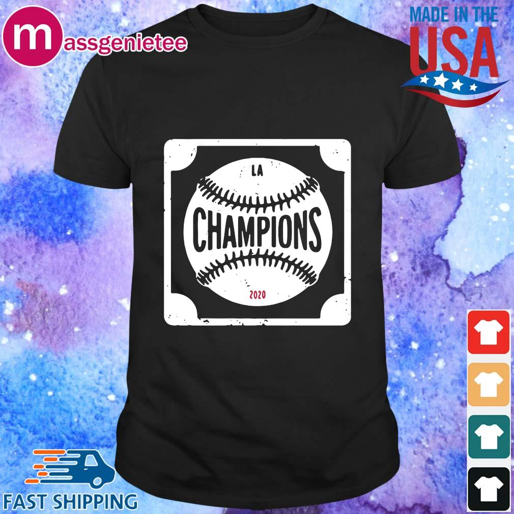 Los Angeles Dodger Champions 2020 Baseball shirt