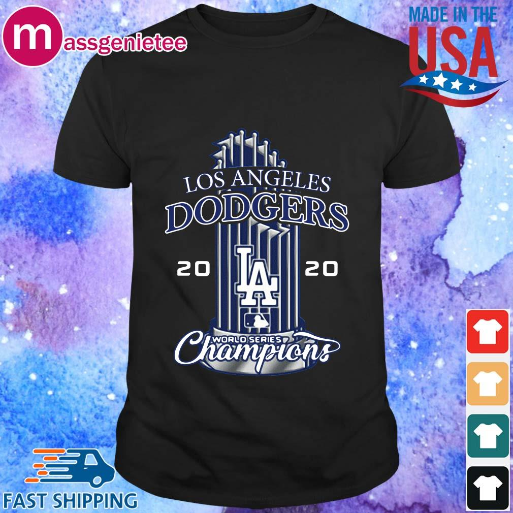 Los Angeles Dodgers 17th World Series Champion T-Shirt