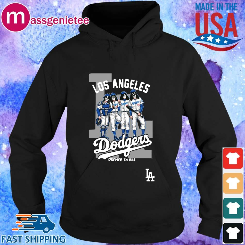 Los Angeles Dodgers 2020 World Series Champions Dressed to Kill Shirt Hoodie den