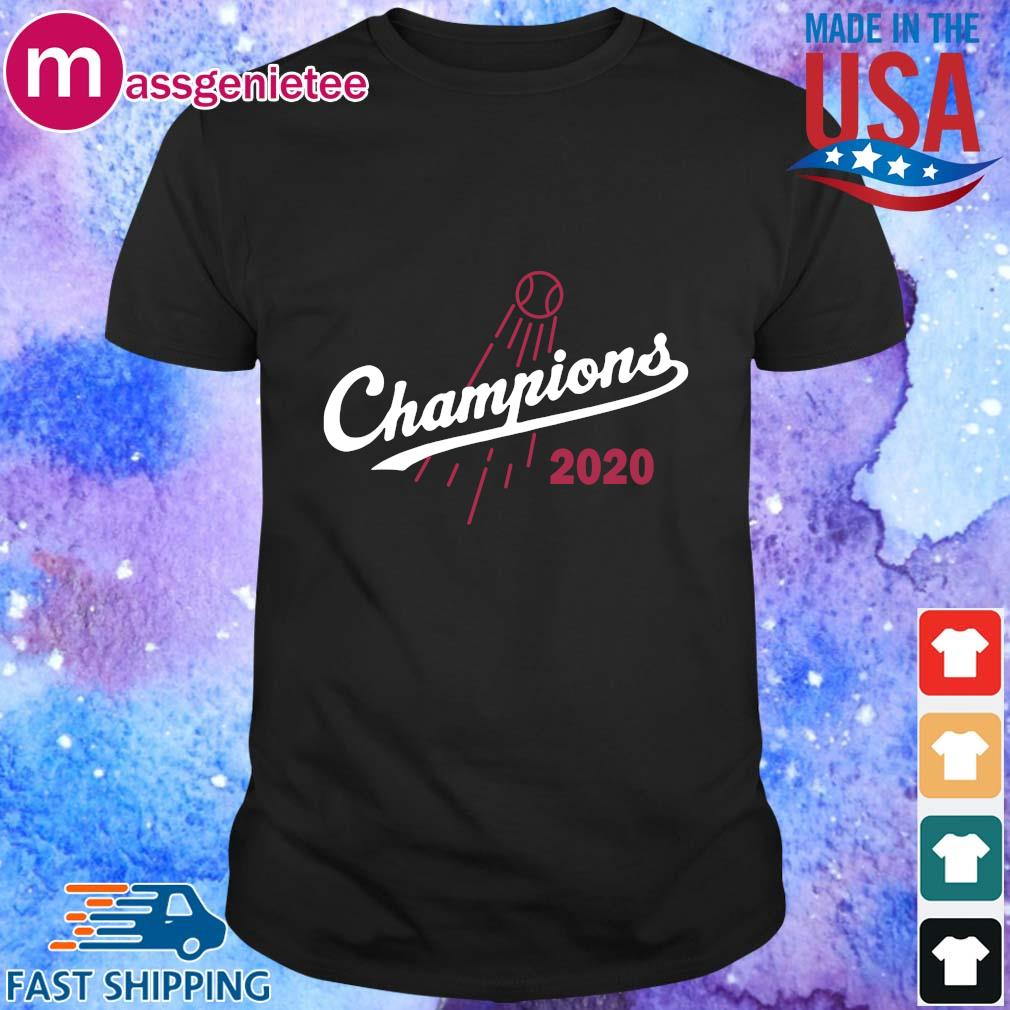 Los Angeles Dodgers baseball Champions 2020 shirt