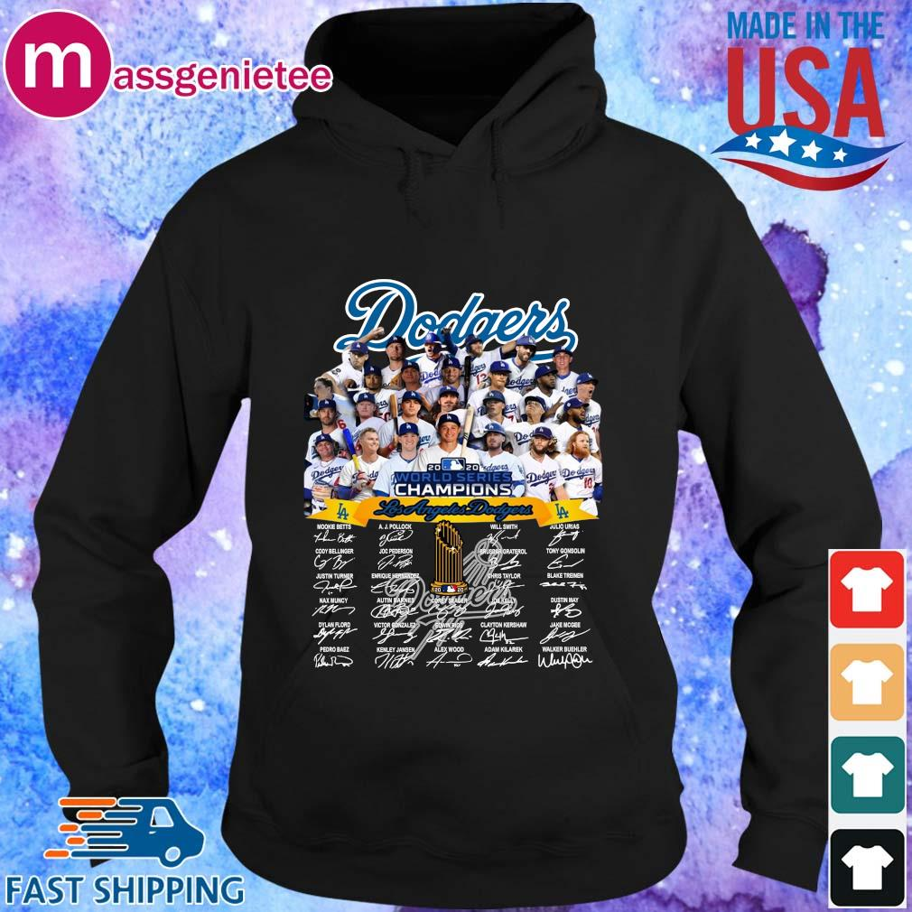 Los Angeles Dodgers full player 2020 world series Champions Shirt Hoodie den