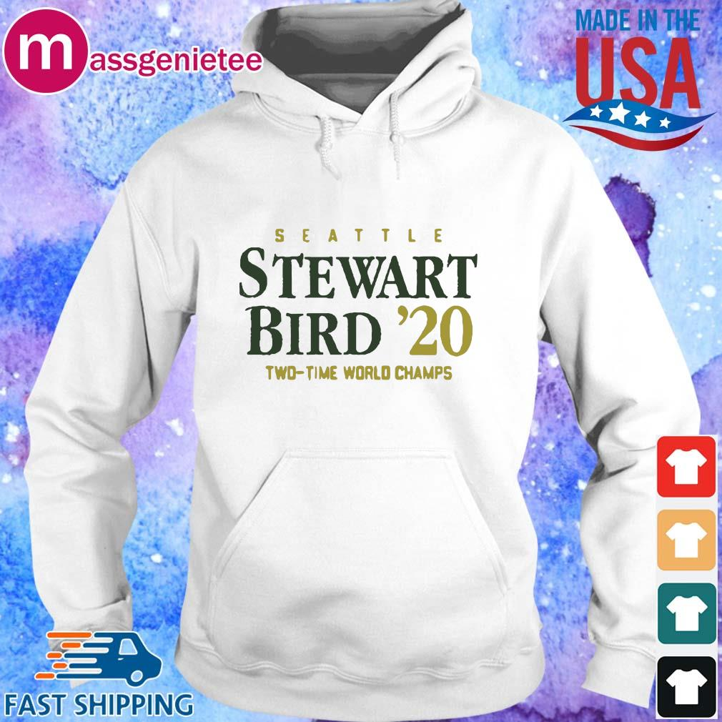 Seattle Stewart Birth _20 two time world champs s Hoodie trang