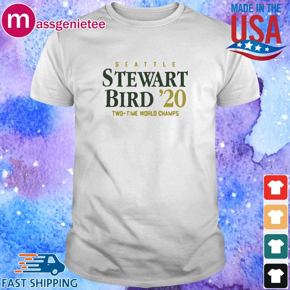 Seattle Stewart Birth _20 two time world champs shirt