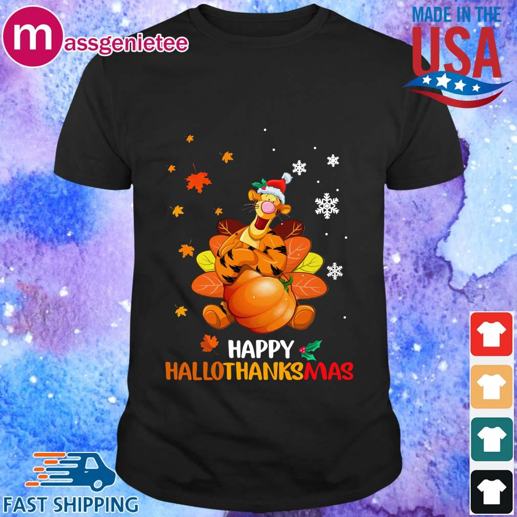 Tigger happy Hallothanksmas shirt