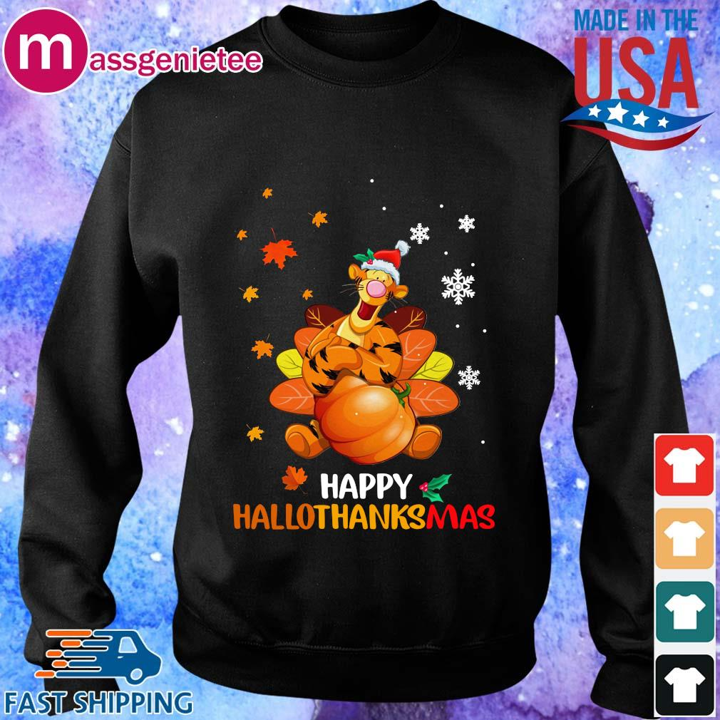 Tigger happy Hallothanksmas s Sweater den