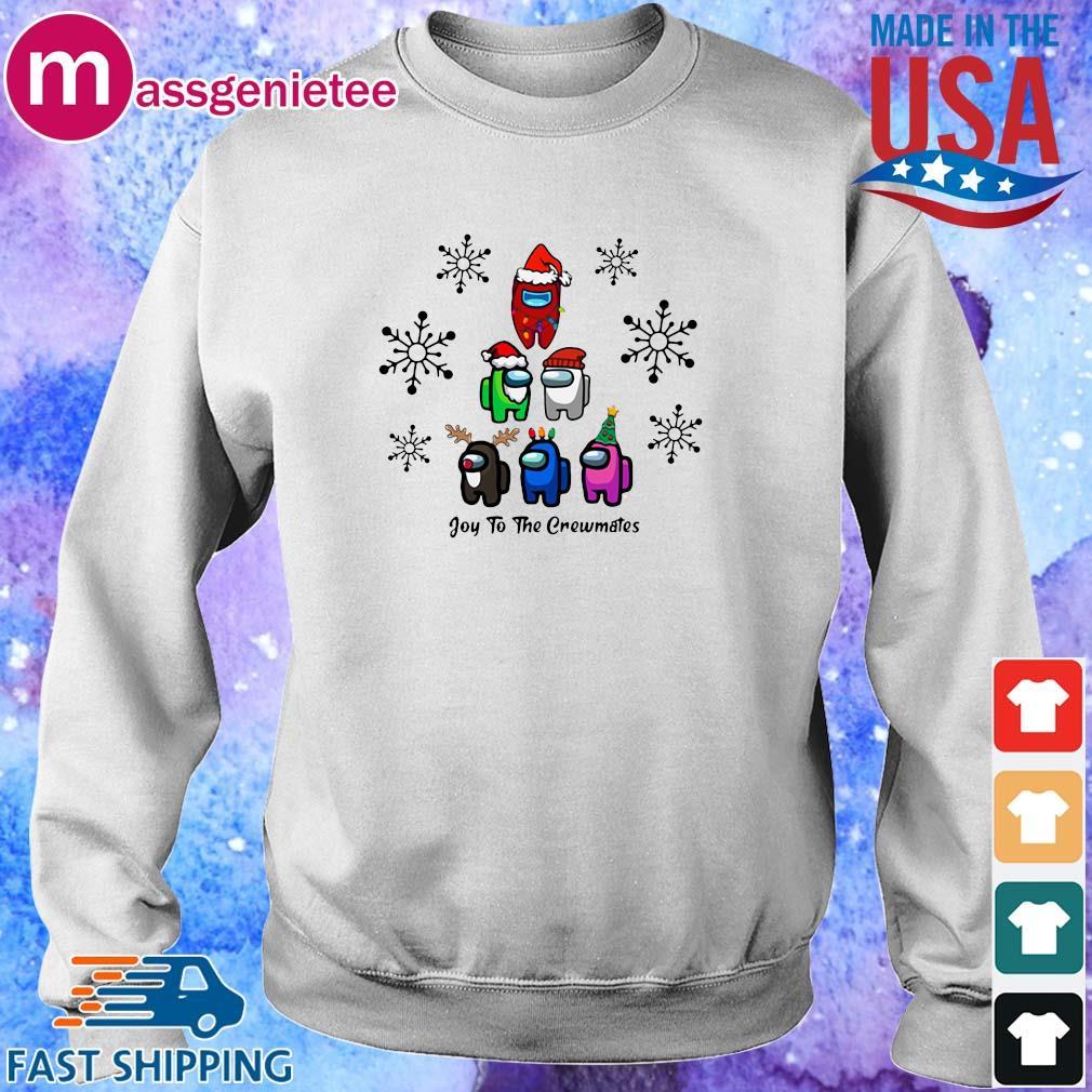 Among Us Character Joy To The Crewmates Christmas Tree Sweater Sweater trang
