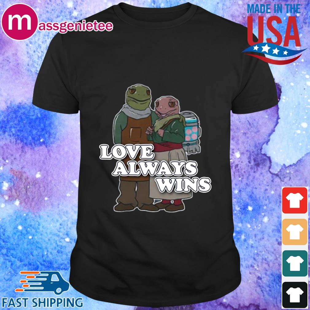 Love always wins shirt