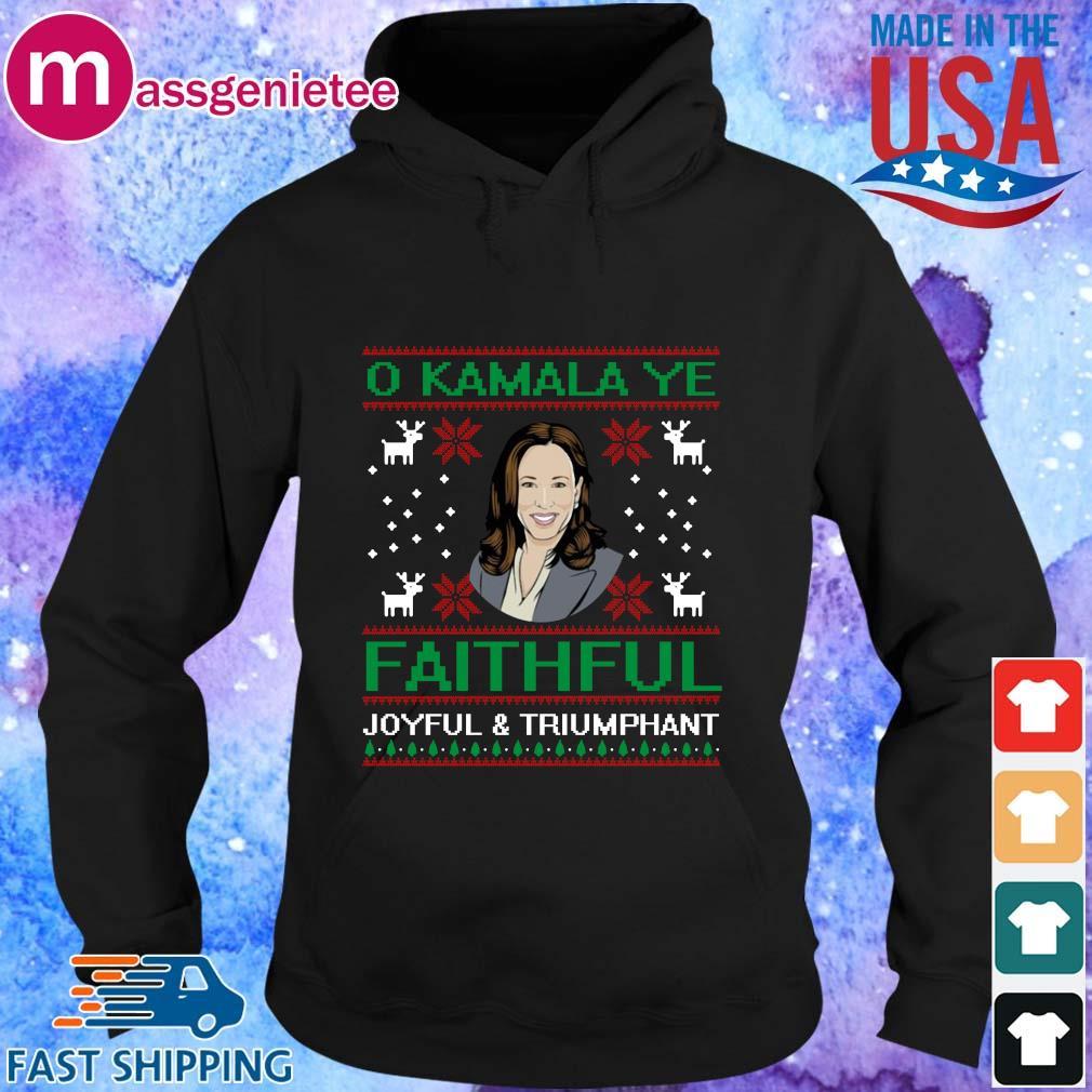 O Kamala Ye Faithful Ugly Christmas Sweater Hoodie den