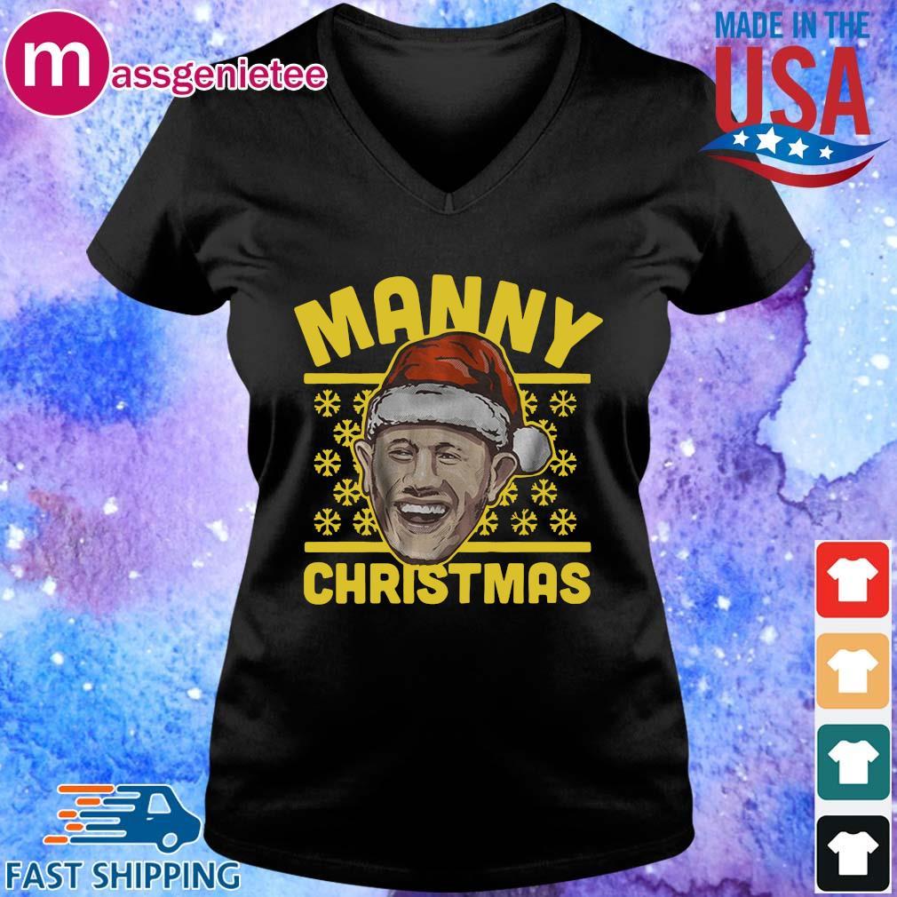 Official Manny Christmas sweater V-Neck den