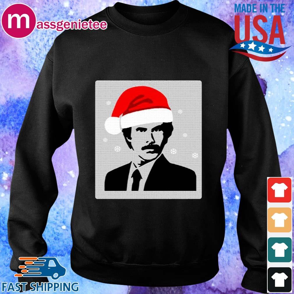Official Ron Burgundy Santa Christmas sweats Sweater den