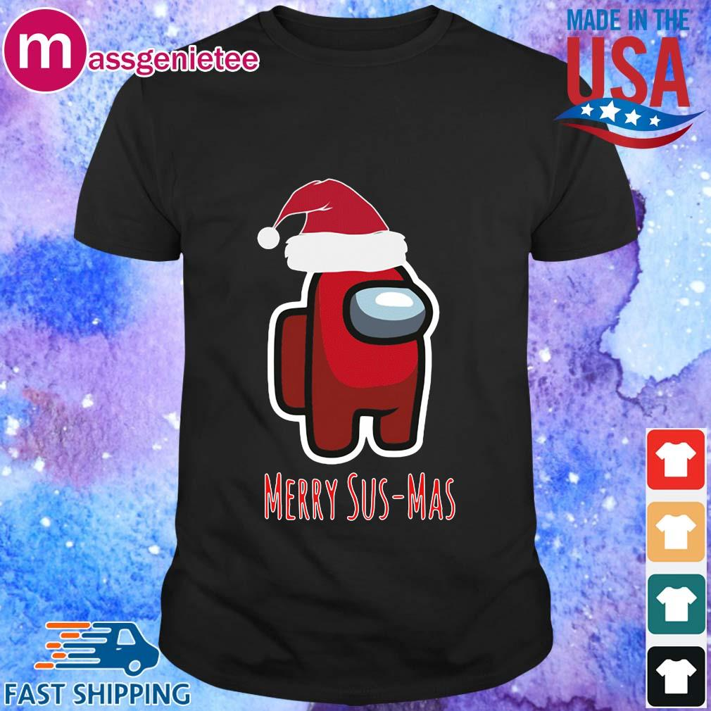 Red Among Us Santa Merry Sus-Mas Christmas Sweater