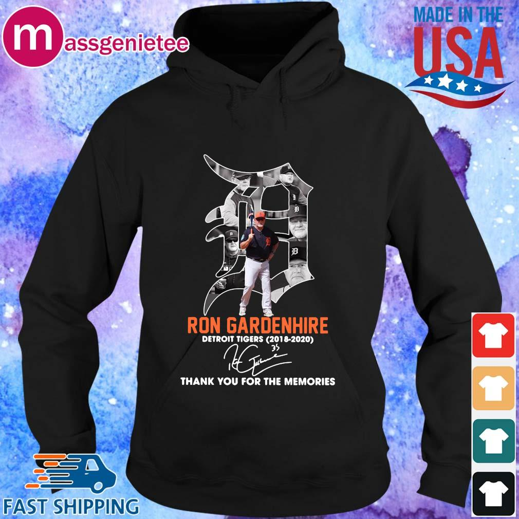 Ron Gardenhire Detroit Tigers 2018-2020 thank you for the memories signature s Hoodie den
