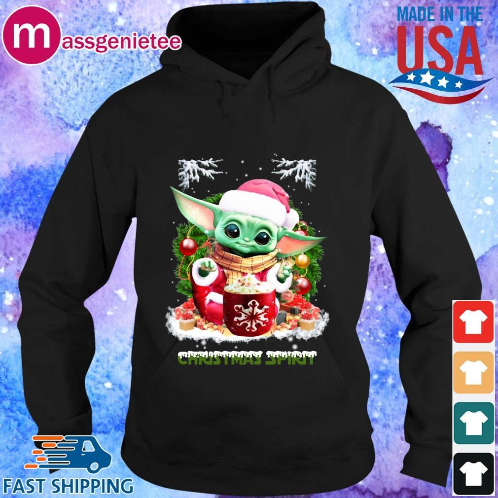 Santa Baby Yoda Christmas spirit sweater Hoodie den