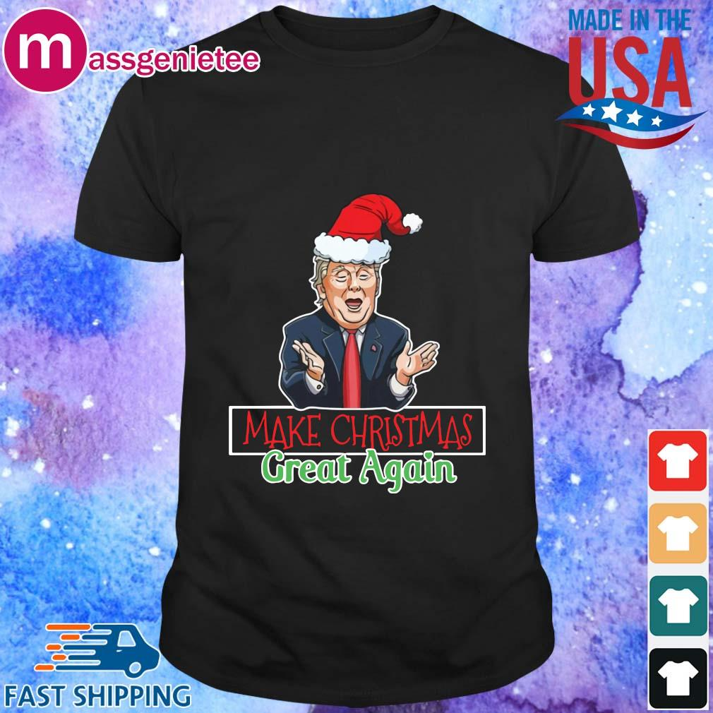 Santa Donald Trump make Christmas great again sweater