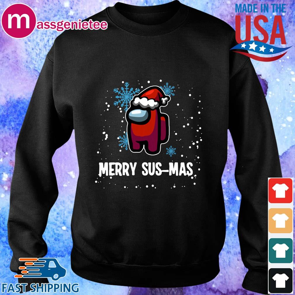 Santa Imposter Merry Sus-Mas Among Us Christmas Sweater Sweater den