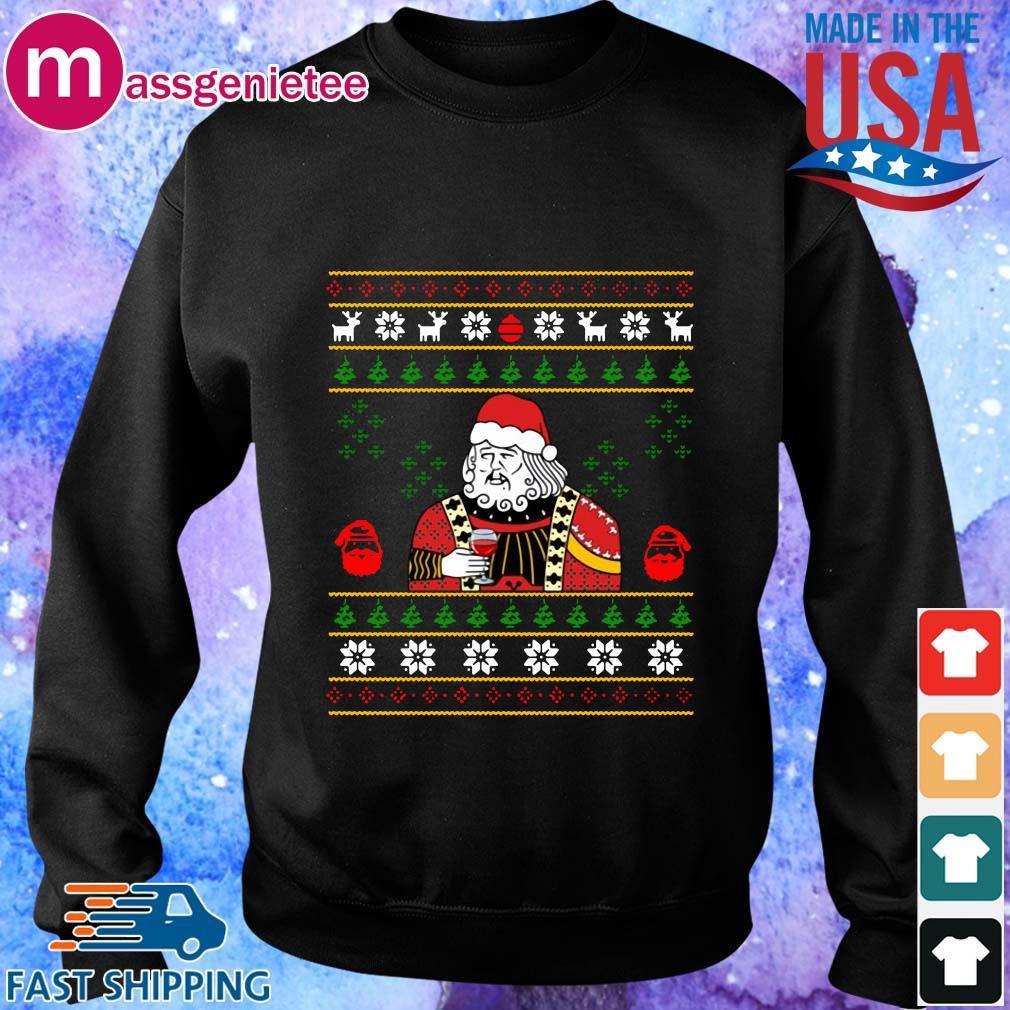 Santa Leonardo Dicaprio Ugly Christmas sweater Sweater den