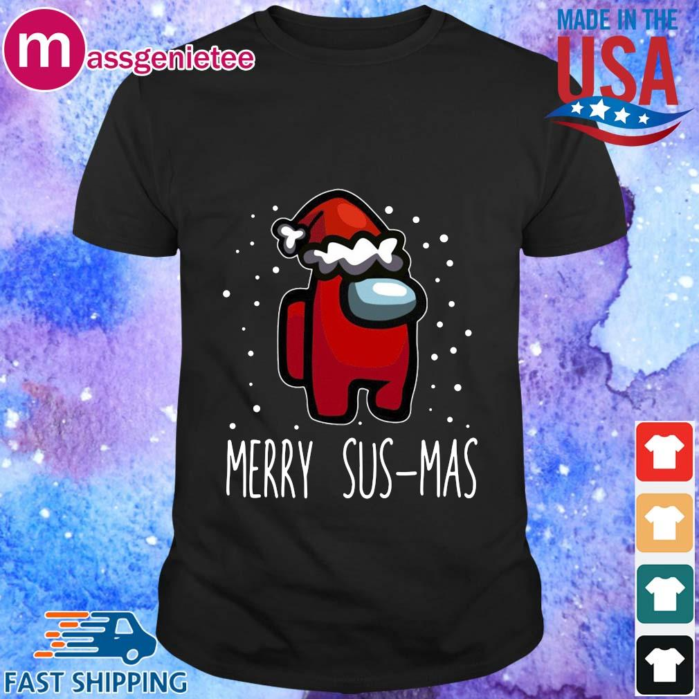 Santa Red Among Us Merry Sus-Mas Christmas sweater