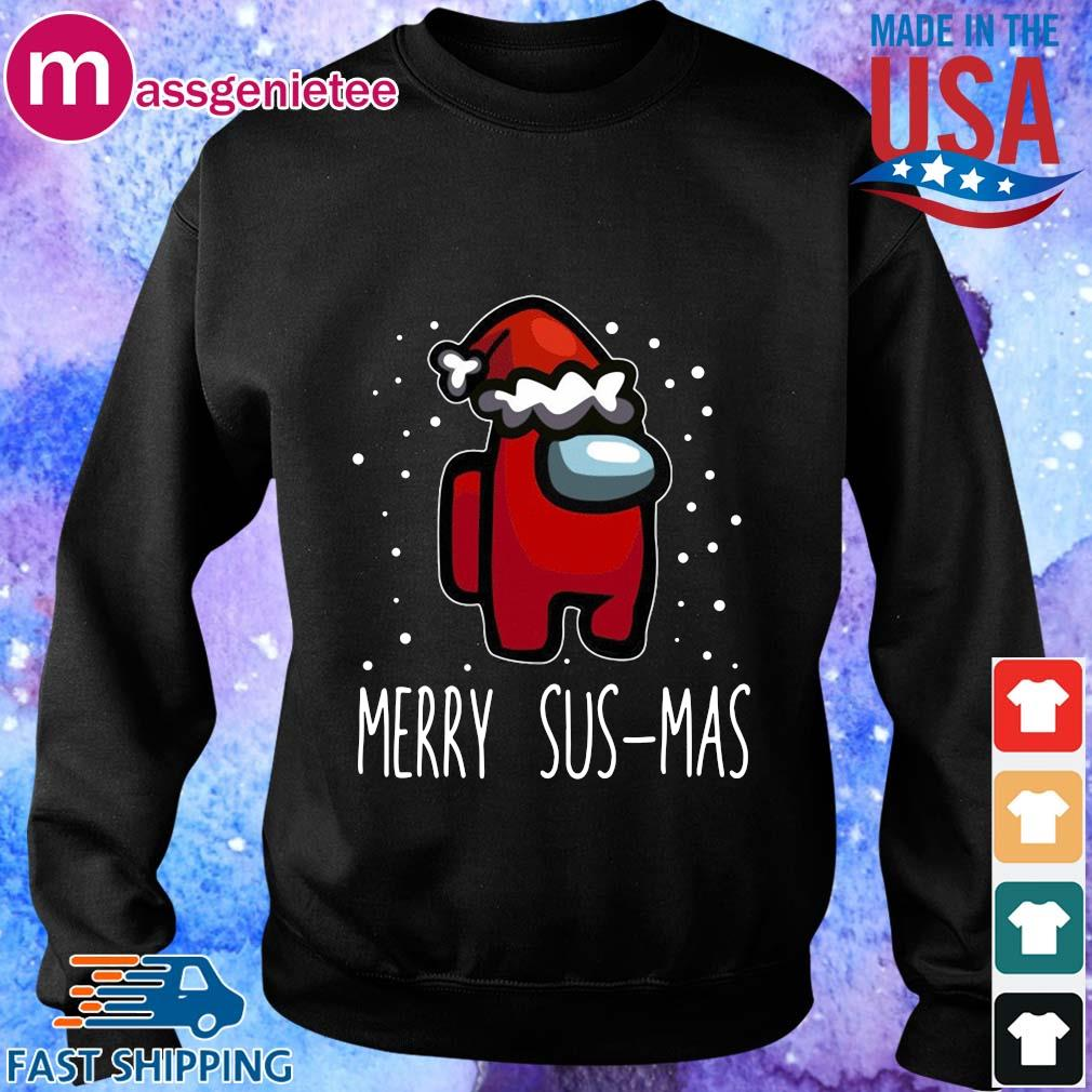 Santa Red Among Us Merry Sus-Mas Christmas sweater Sweater den