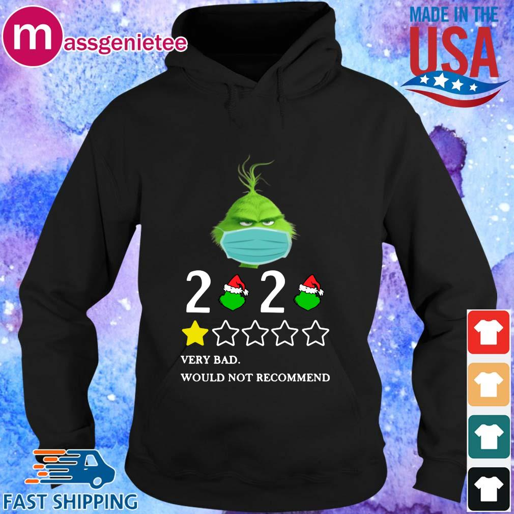 The Grinch face mask 2020 very bad would not recommend s Hoodie den