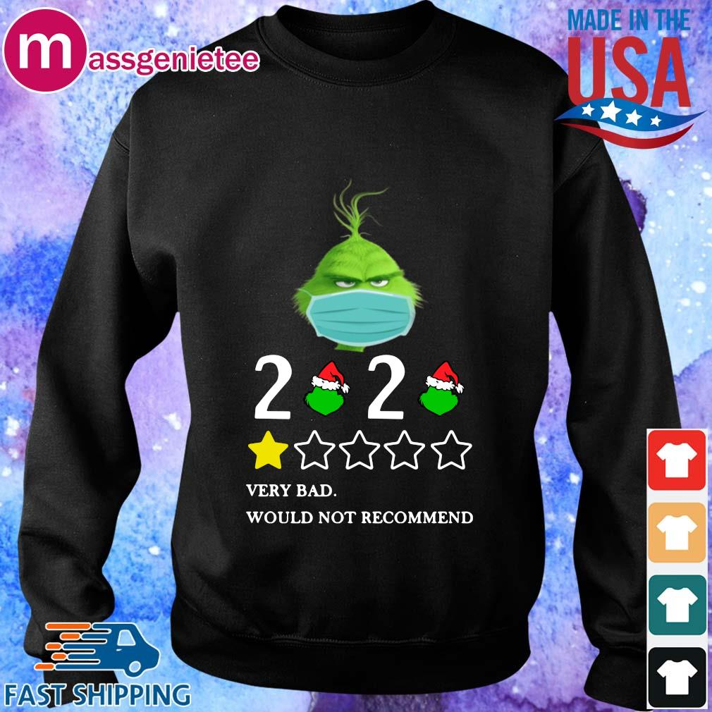The Grinch face mask 2020 very bad would not recommend s Sweater den