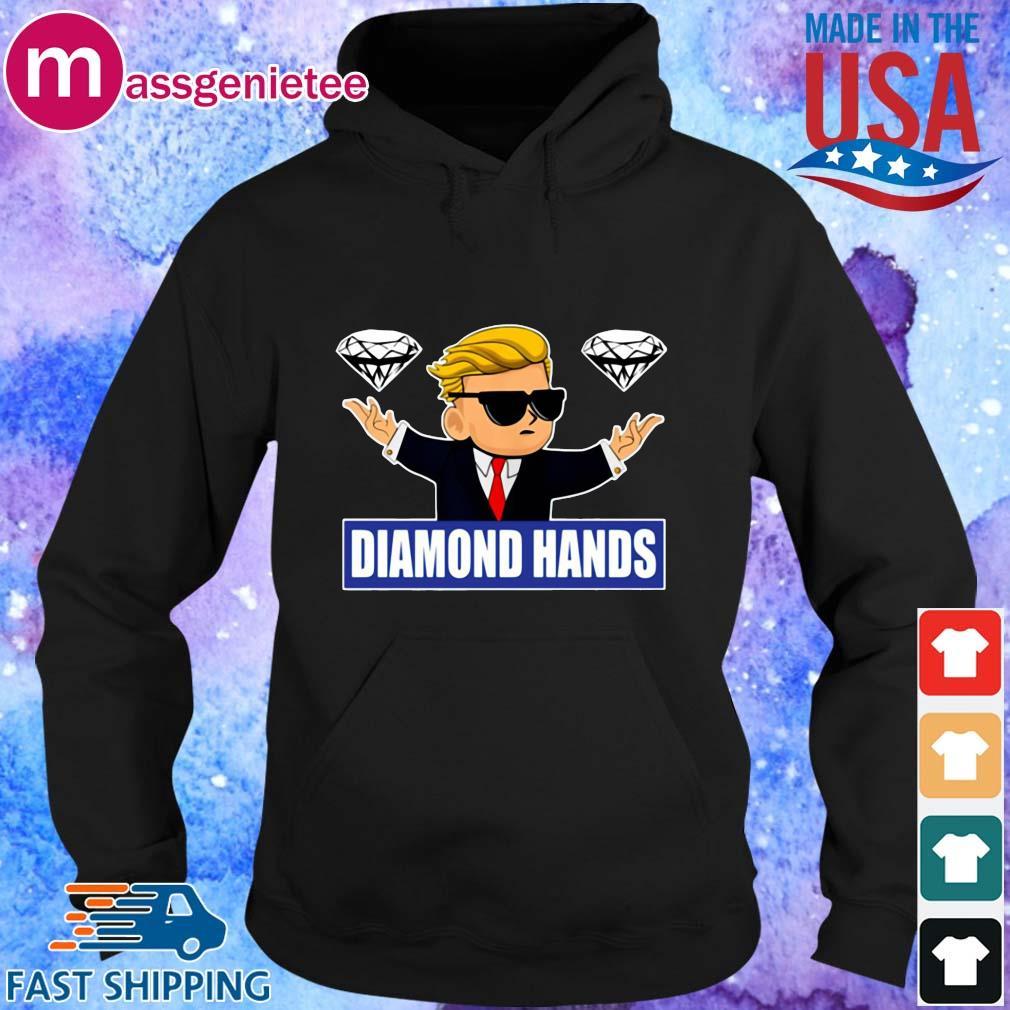GameStonk Diamond Hands Shirt Hoodie den