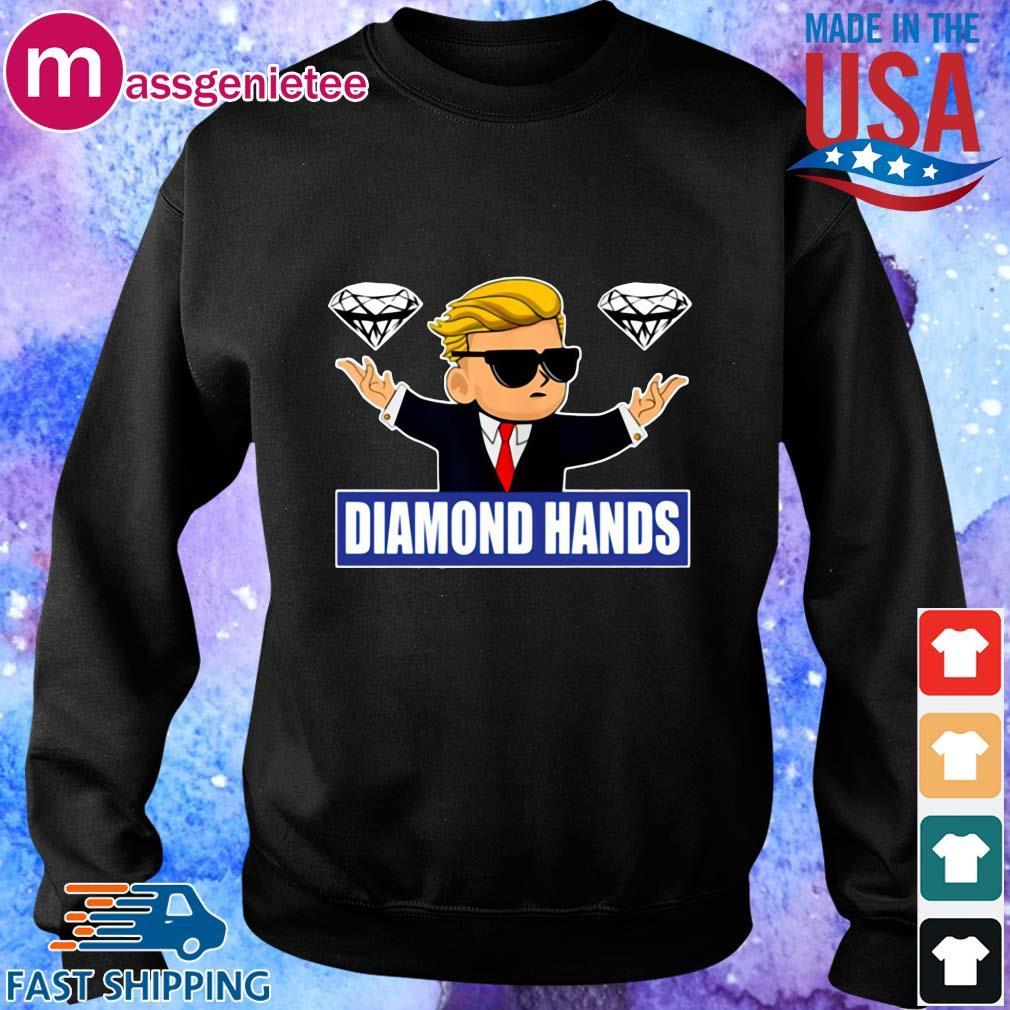 GameStonk Diamond Hands Shirt Sweater den